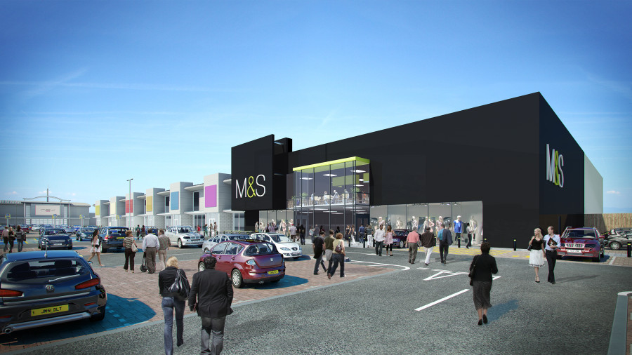 M&S_Exterior_Visualisation