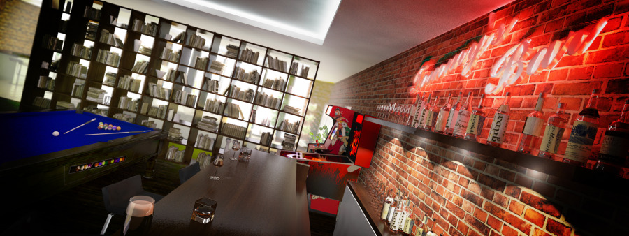 Tommy Bowe Games Room Visualisation