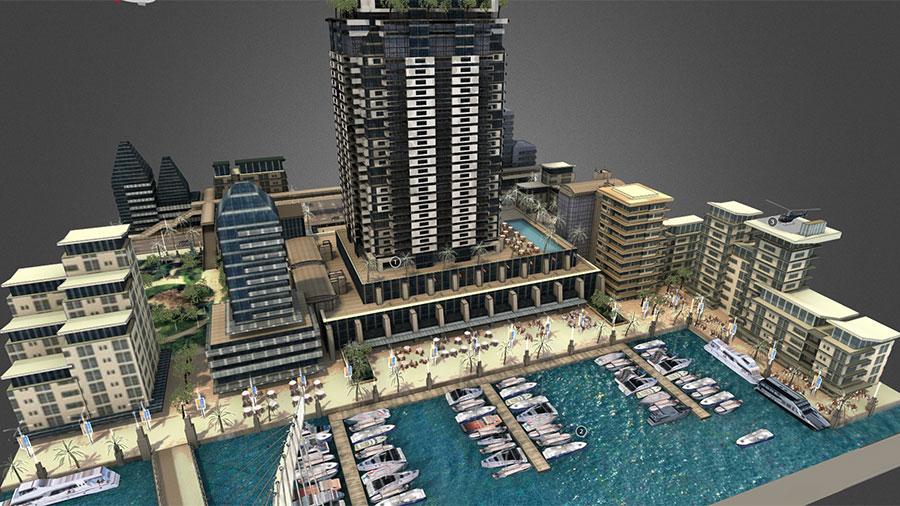 Dubai-3D-Interactive-Visualisation