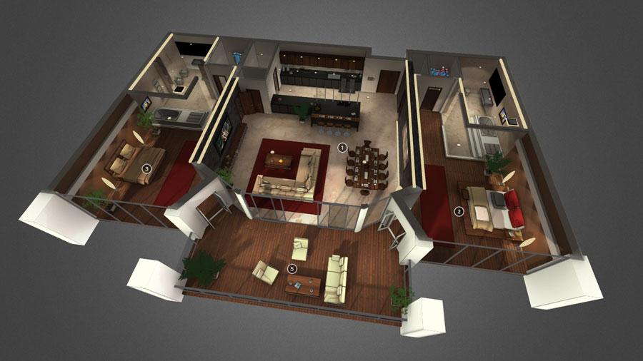 Dubai 3D Interactive Floorplan