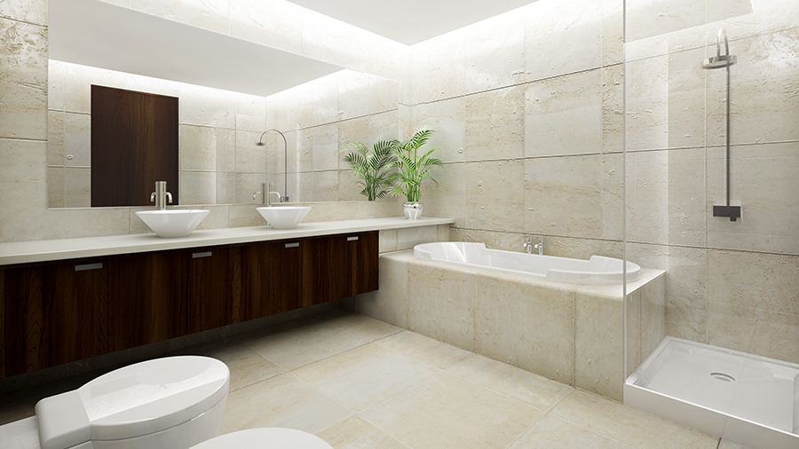 Luxury Bathroom CGI 3D Architectural Visualisation
